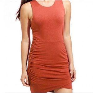 Athleta Orange Seeker Tank Large Dress